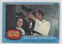 Carrie Fisher and Mark Hamill [GoodtoVG‑EX]