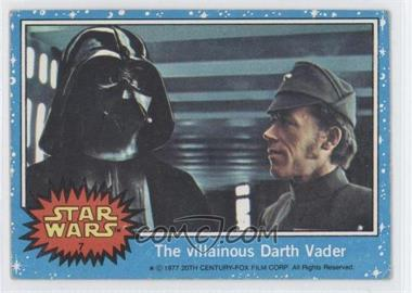 1977 Topps Star Wars #7 - The Villainous Darth Vader