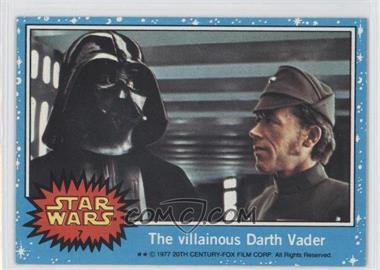 1977 Topps Star Wars #7 - The Villainous Darth Vader