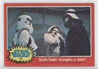 Darth Vader Strangles a Rebel! [Good to VG‑EX]