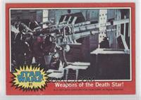 Weapons of the Death Star!