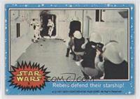 Rebels Defend Their Starship!