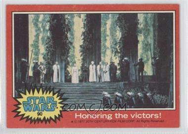 1977 Topps Star Wars #90 - [Missing] [Good to VG‑EX]