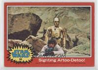 Sighting Artoo-Detoo!