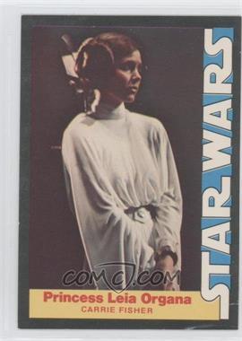 1977 Wnder Bread Star Wars Food Issue [Base] #3 - Princess Leia Organa (Carrie Fisher)