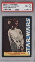 Princess Leia Organa (Carrie Fisher) [PSA 10]