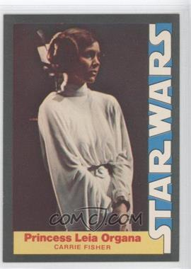 1977 Wonder Bread Star Wars - Food Issue [Base] #3 - Princess Leia Organa (Carrie Fisher)