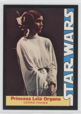 1977 Wonder Bread Star Wars Food Issue [Base] #3 - Princess Leia Organa (Carrie Fisher)