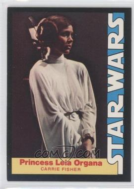 1977 Wonder Bread Star Wars Food Issue [Base] #3 - Princess Leia Organa (Carrie Fisher)