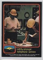 UFOs disrupt telephone service