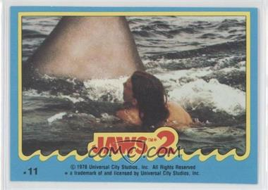 1978 Topps Jaws 2 Stickers #11 - [Missing]