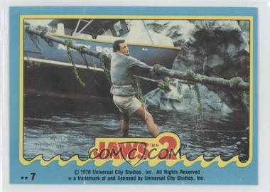 1978 Topps Jaws 2 Stickers #7 - Jaws 2