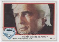 Marlon Brando as Jor-El [GoodtoVG‑EX]