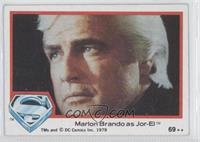 Marlon Brando as Jor-El
