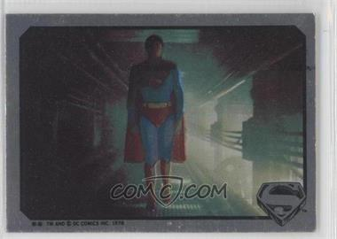 1978 Topps Superman The Movie #N/A - Superman Sticker [Good to VG‑EX]