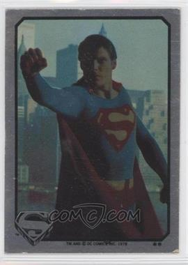 1978 Topps Superman The Movie #N/A - Superman Sticker