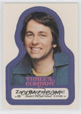 1978 Topps Three's Company Stickers #26 - [Missing]