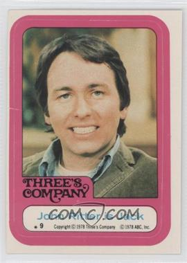 1978 Topps Three's Company Stickers #9 - John Ritter is Jack