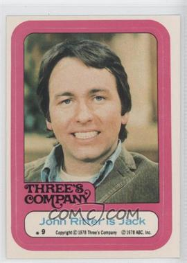 1978 Topps Three's Company Stickers #9 - [Missing]