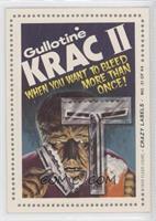 Gullotine Krac II (Joke Back)