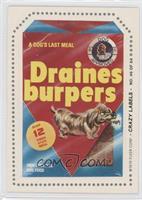 Draines burpers (U-8 Back)