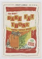 Dare Eat Those (Maimed Back)