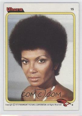 1979 Topps Star Trek: The Motion Picture - [Base] #15 - Uhura