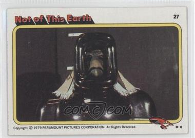 1979 Topps Star Trek: The Motion Picture - [Base] #27 - Not of This Earth