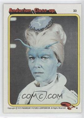 1979 Topps Star Trek: The Motion Picture - [Base] #33 - Andorian Close-up