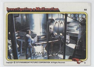 1979 Topps Star Trek: The Motion Picture - [Base] #44 - Investigating a Malfunction