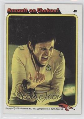 1979 Topps Star Trek: The Motion Picture - [Base] #48 - Assault on Chekov!