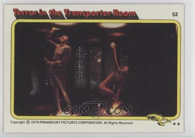 1979 Topps Star Trek: The Motion Picture - [Base] #52 - Terror in the Transporter Room