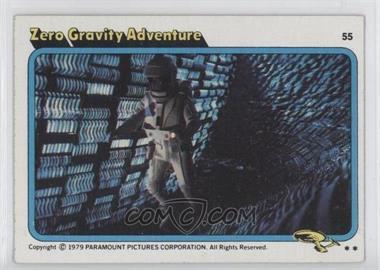 1979 Topps Star Trek: The Motion Picture - [Base] #55 - Zero Gravity Adventure
