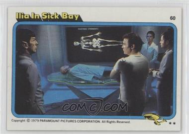 1979 Topps Star Trek: The Motion Picture - [Base] #60 - Ilia in Sick Bay