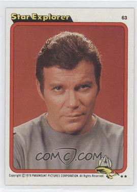 1979 Topps Star Trek: The Motion Picture - [Base] #63 - Star Explorer
