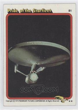 1979 Topps Star Trek: The Motion Picture - [Base] #81 - Pride of the Starfleet