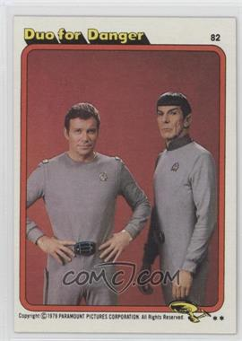 1979 Topps Star Trek: The Motion Picture - [Base] #82 - Duo for Danger