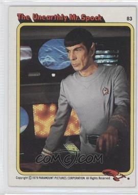 1979 Topps Star Trek: The Motion Picture - [Base] #83 - The Unearthly Mr. Spock