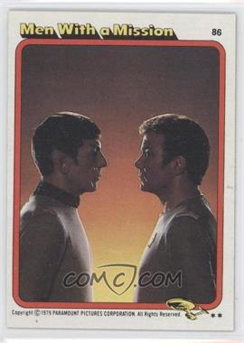 1979 Topps Star Trek: The Motion Picture - [Base] #86 - Men With a Mission