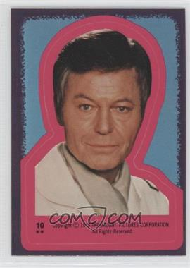 1979 Topps Star Trek: The Motion Picture - Stickers #10 - Dr. Leonard McCoy