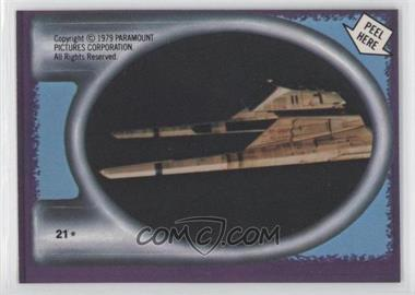 1979 Topps Star Trek: The Motion Picture - Stickers #21 - Vulcan Starship