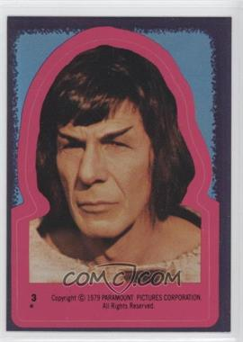 1979 Topps Star Trek: The Motion Picture - Stickers #3 - Spock