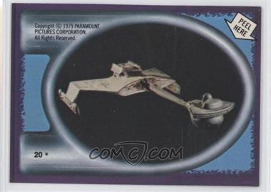 1979 Topps Star Trek: The Motion Picture Stickers #20 - [Missing]