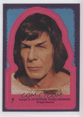 1979 Topps Star Trek: The Motion Picture Stickers #3 - Spock [GoodtoVG‑EX]