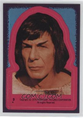 1979 Topps Star Trek: The Motion Picture Stickers #3 - Spock