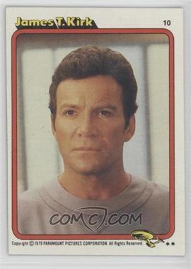 1979 Topps Star Trek: The Motion Picture #10 - James T. Kirk