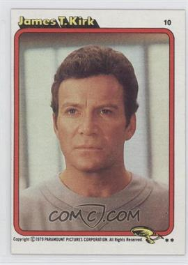 1979 Topps Star Trek: The Motion Picture #10 - James T. Kirk