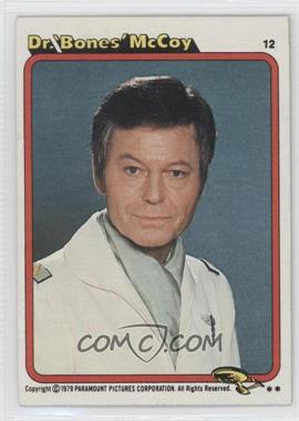 1979 Topps Star Trek: The Motion Picture #12 - Dr. 'Bones' McCoy