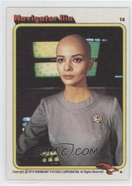 1979 Topps Star Trek: The Motion Picture #14 - Navigator Ilia