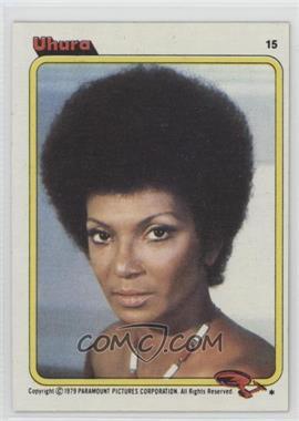 1979 Topps Star Trek: The Motion Picture #15 - Uhura
